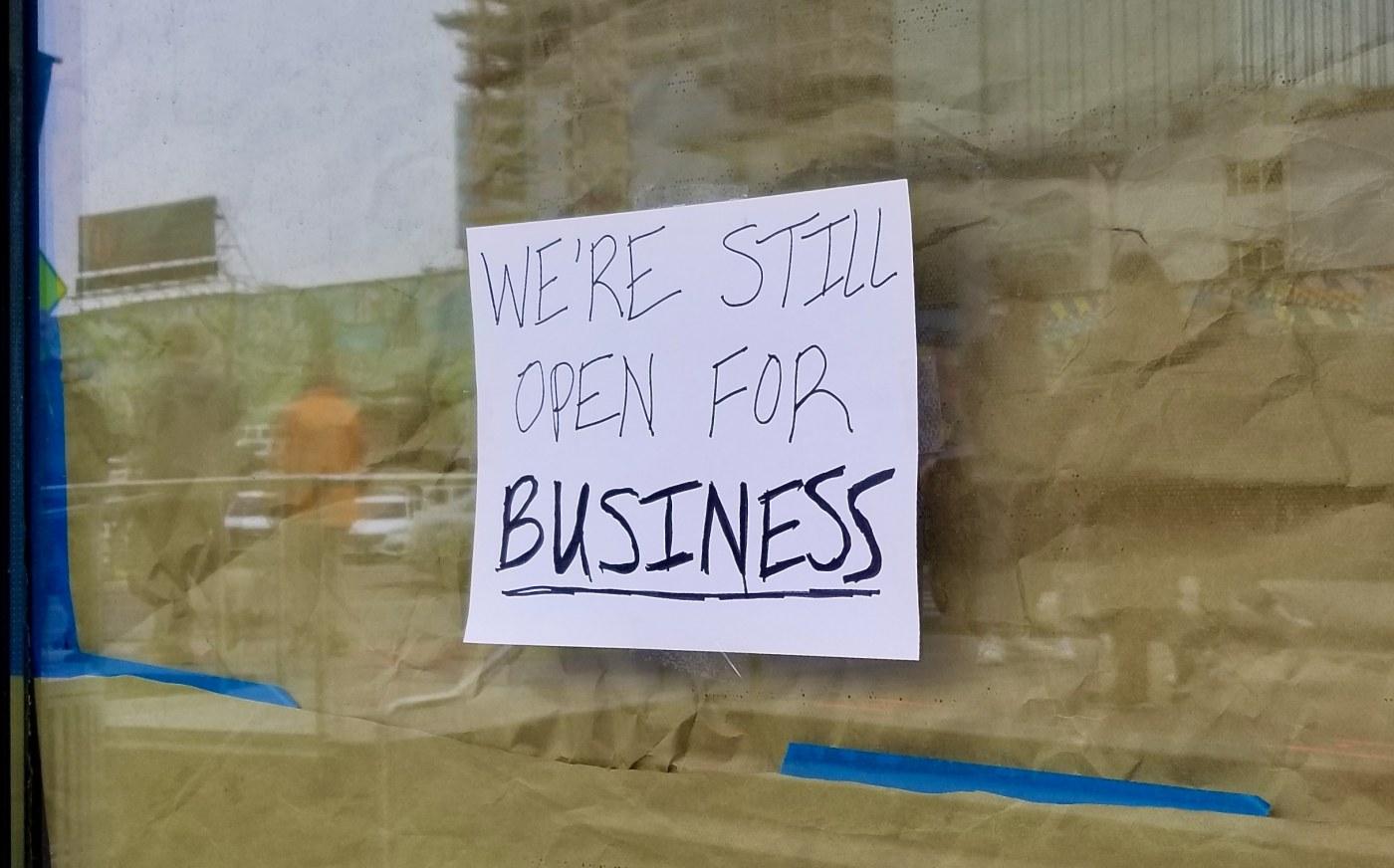 Coronavirus Business Shutdown